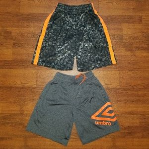 UMBRO CHAMPION BOYS EXTRA SMALL 4-5 SHORTS